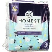 Honest Tea Diapers, Sleep Sheep, Overnights, Size 3 (16-28 lbs)