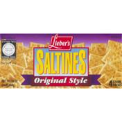 Lieber's Saltines Original Style - 4 PKS