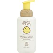 Baby Bum Shampoo & Wash, Fragrance Free