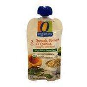 O Organics Apple, Butternut Squash & Spinach With Quinoa Organic Baby Food