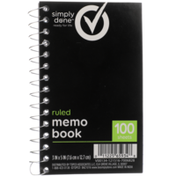 Simply Done Ruled Memo Book