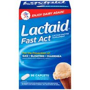 Lactaid Fast Act Caplets Posted 5/7/2014 Lactase Enzyme Supplement