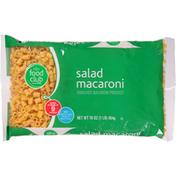 Food Club Macaroni, Salad