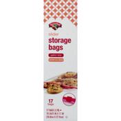 Hannaford Storage Bags, Slider, Gallon Size, Box