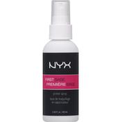 NYX Professional Makeup Makeup Primer, First Base FBPS01, Spray