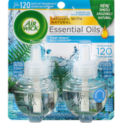 Air Wick Scented Oil Refills, Fresh Waters