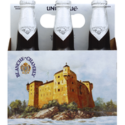 Unibroue Beer, White Ale, on Lees, Blanche de Chambly