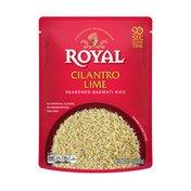 Royal Ready to Heat Microwave Cilantro Lime, Seasoned Basmati Rice