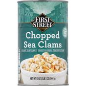 First Street Sea Clams, Chopped