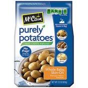 McCain Potatoes, Premium Yellow, Whole Baby, Skin On