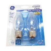 General Electric 60-Watt EEH Decorative Blunt Tip Light Bulbs