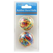 For Keeps Rubber Bands, Balls, Assorted Colors