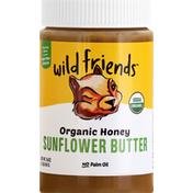 Wild Friends Sunflower Butter, Organic, Honey
