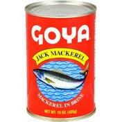 Goya Jack Mackerel in Brine