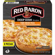 Red Baron Deep Dish Singles Four Cheese Pizza