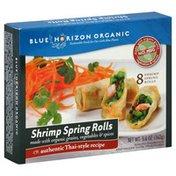 Blue Horizon Shrimp Spring Rolls, Thai-Style