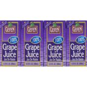 Gefen 100% Grape Juice - 4 CT