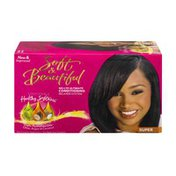 Soft & Beautiful No-Lye Ultimate Conditioning Relaxer System Super
