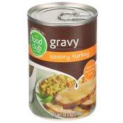 Food Club Gravy, Savory Turkey