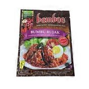 Bamboe Bumbu Rujak Indonesian Instant Spices