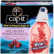 4C Cap-It Wildberry Pomegranate Liquid Water Enhancer