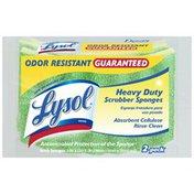 Lysol Heavy-Duty Cellulose Scrub Sponges