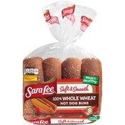 Sara Lee 100% Whole Wheat Hot Dog Buns