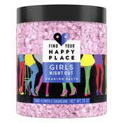 Find Your Happy Place Soaking Bath Salts Tiare Flower And Sugarcane