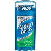Arrid Antiperspirant Deodorant, Ultra Fresh, Invisible Solid