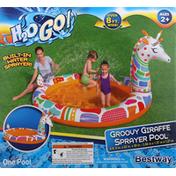 H2o Go! Sprayer Pool, Groovy Giraffe