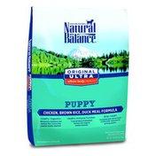 Natural Balance Puppy Food, Ultra Premium, Chicken, Brown Rice, Duck Meal Formula