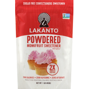 Lakanto Monkfruit Sweetener, Sugar Free, Powdered