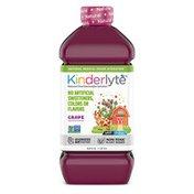 Kinderlyte Natural Oral Electrolyte Solution Grape