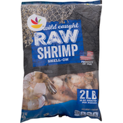 Ahold Raw Shrimp, Shell-On, Wild Caught