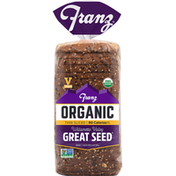 Franz Bread, Organic, Willamette Valley, Great Seed, Thin Sliced