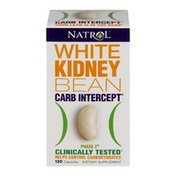 Natrol White Kidney Bean Carb Intercept Phase 2 Dietary Supplement Capsules - 120 CT