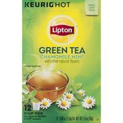 Lipton Green Tea, Chamomile Mint, K-Cup Pods