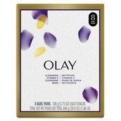 OLAY Age Defying Bar Soap  with Vitamin E and Vitamin B3 Complex Beauty Bars
