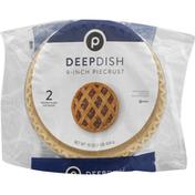 """Publix Regular Dish Pie Crust, 9"""""""
