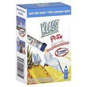 Klass Drink Mix, Pineapple Flavored, Pina