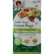 Debbie Meyer Green Bags, Variety Pack