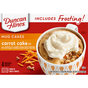 Duncan Hines Mug Cakes, Carrot Cake Mix
