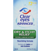 Clear Eyes Dry & Itchy Relief