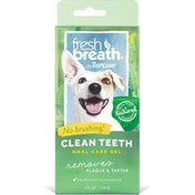 TropiClean Clean Teeth Gel, for Dogs & Cats, Natural Fresh Mint
