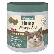 NaturVet Hemp Allergy Aid Supplement for Cat