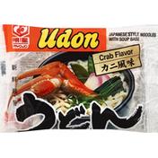 Myojo Udon Noodles, Japanese Style, Crab Flavor