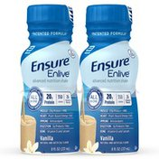 Ensure Enlive Advanced Nutrition Shake Vanilla Ready-to-Drink Bottles