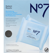 No7 Wipes, Revitalizing, Value Pack