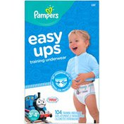 Pampers Easy Ups Thomas & Friends Size 3T-4T Training Underwear