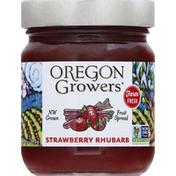 Oregon Growers Fruit Spread, Strawberry Rhubarb